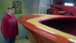 1952 chris craft riviera bright work