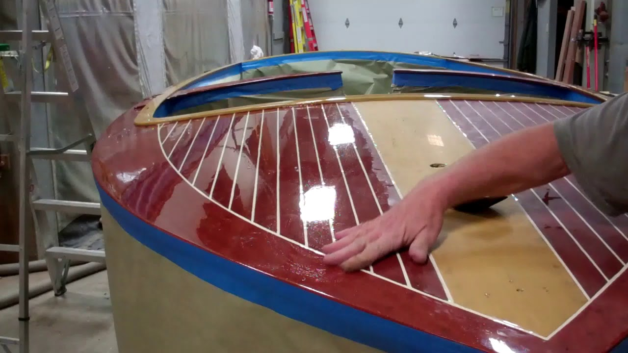 1959 chris craft sportsman how to varnish