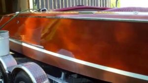 1952 Chris Craft 18 foot Riviera 073115