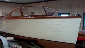 1955 lyman runabout windshield