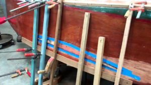 vintage boat dutchman topside repair clinic