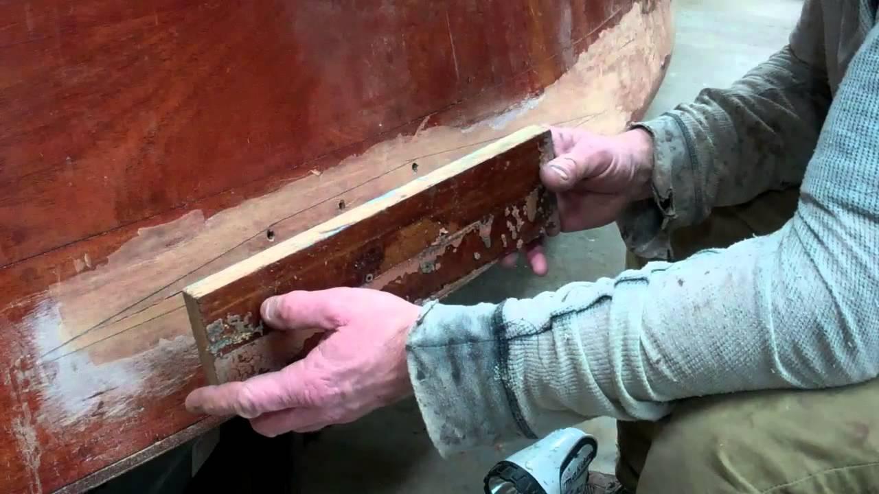 vintage boat dutchman topside repair