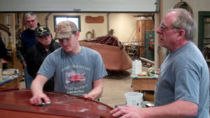how to varnish vintage boats workshop