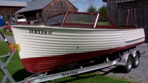 1957 lyman runabout arrives for preservation