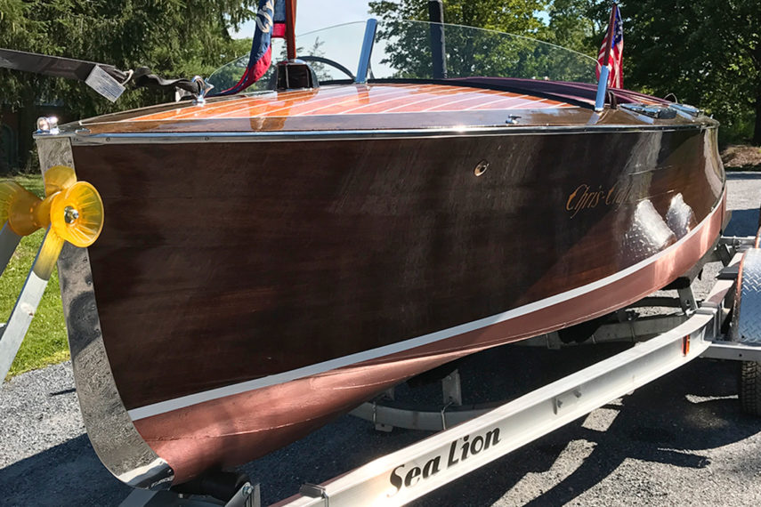 1938 chris craft runabout