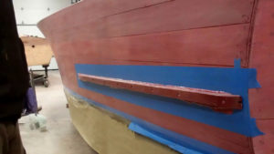 1946 chris craft brightside u22 splash rails