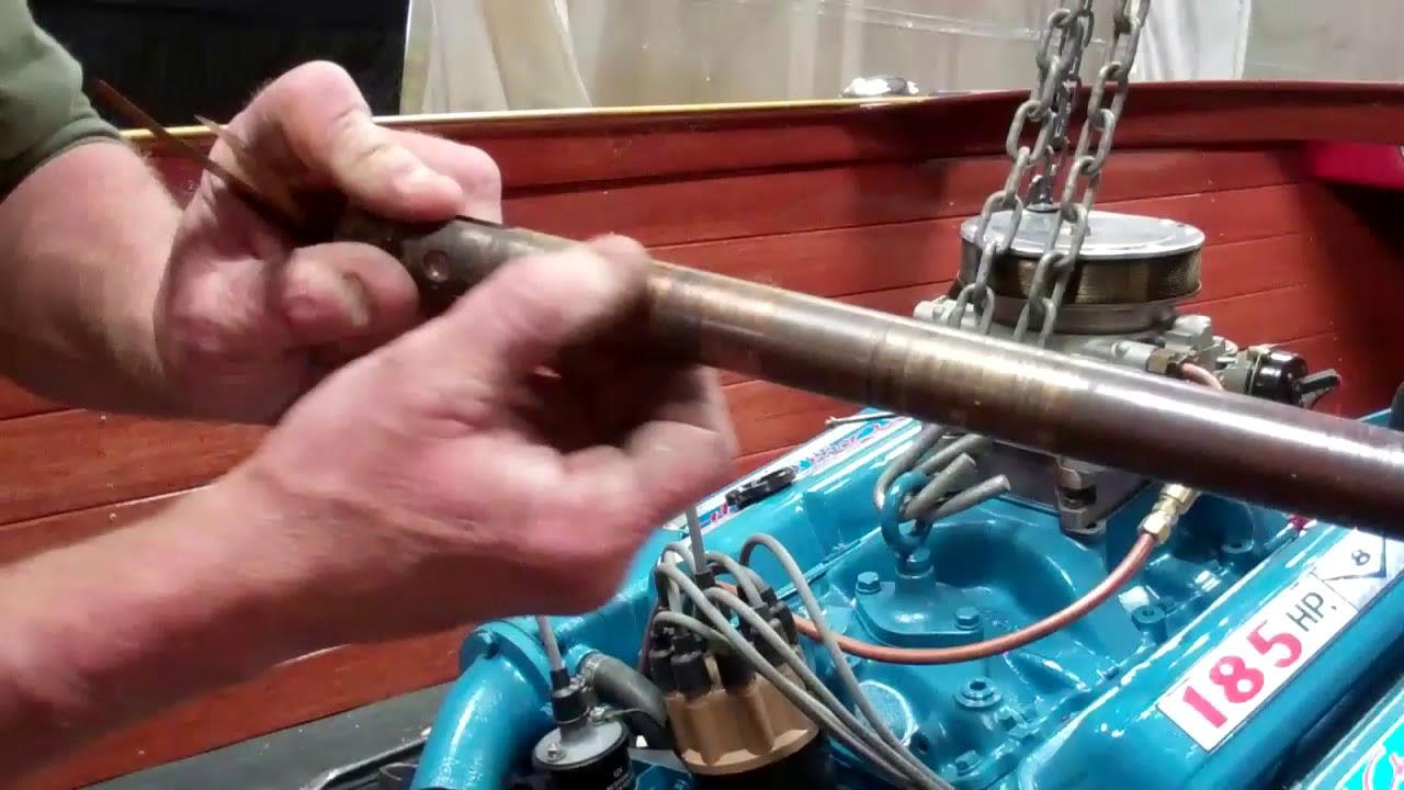 1959 chris craft sportsman engine install align