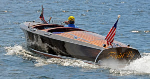 1938 Chris Craft Runabout sea trial