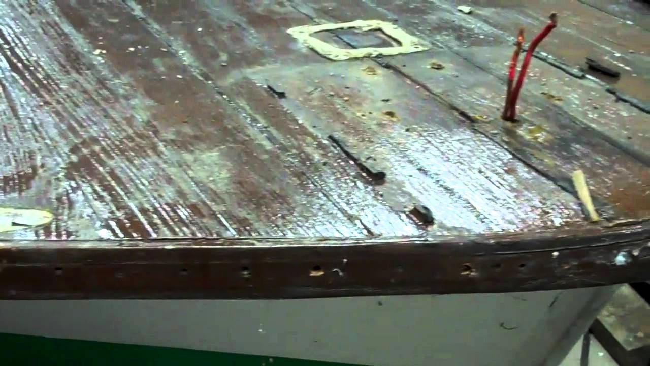 1967 lyman cruisette de-planking