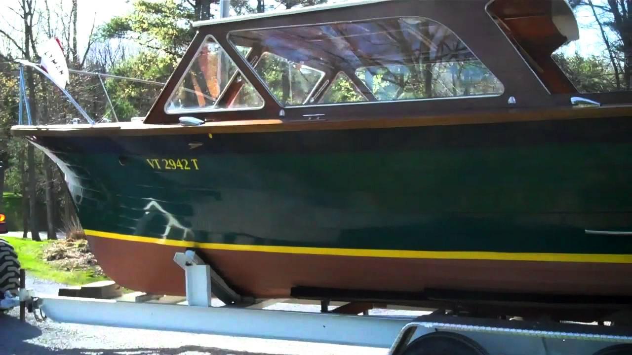 1967 lyman cruisette preservation complete
