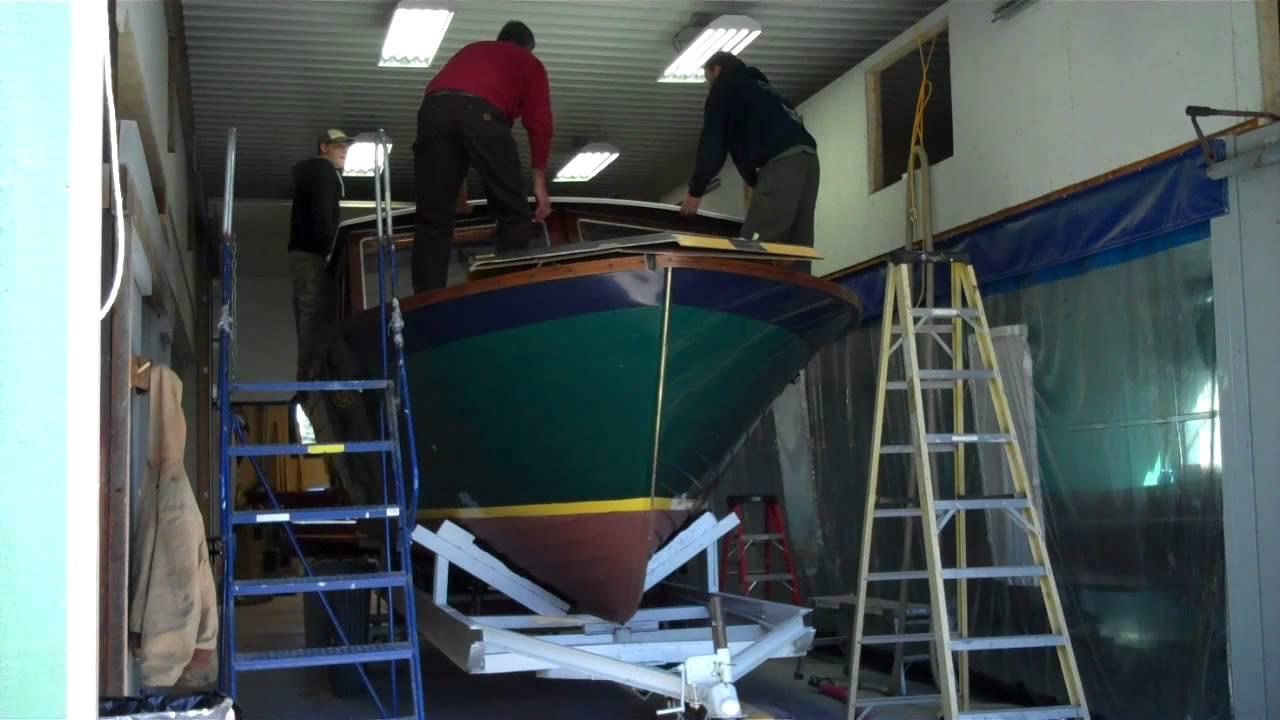 1967 lyman cruisette reinstalling restored hardtop