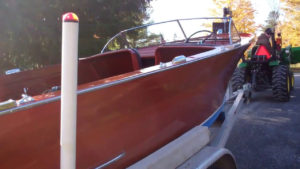 1946 chris craft brightside u22 preserved