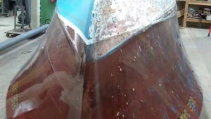 1946 chris craft mahogany u22 bottom update