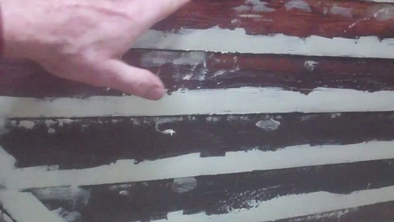 1957 lyman runabout bottom work