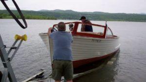 1957 lyman runabout sea trial