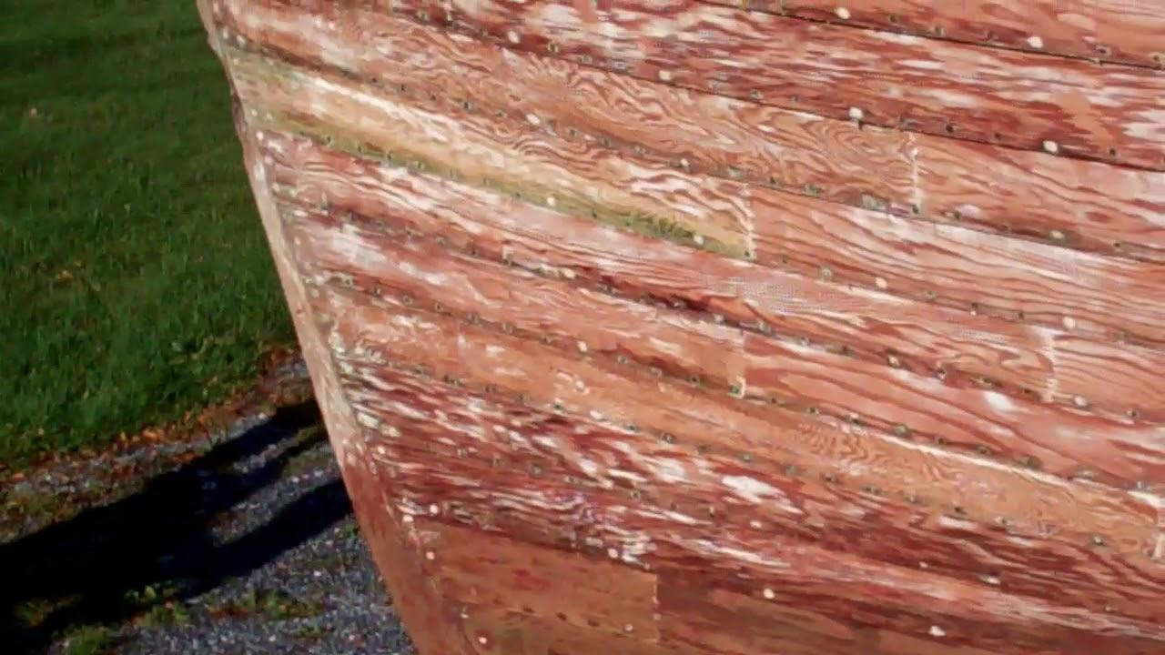 1957 lyman runabout topside transom strip