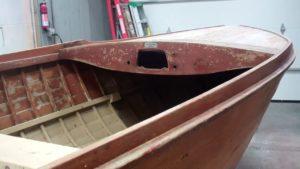 1940 lyman yacht tender arrival
