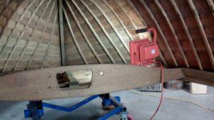 1940 lyman yacht tender interior stripping finishing