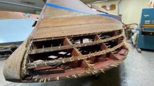 1956 chris craft capri bullnose plank rot
